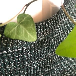 Medium Green Knitted Sweater